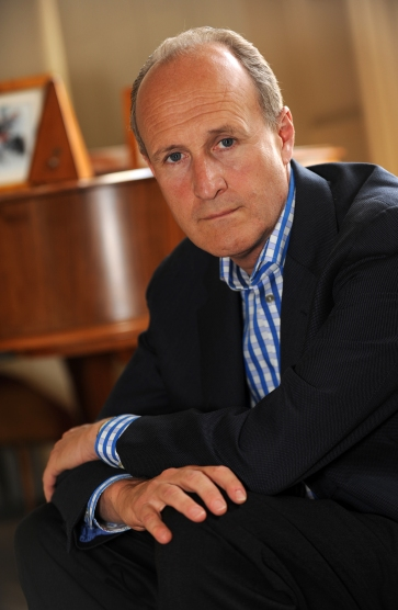 Peter Bazalgette photographed at his home in Notting Hill, London