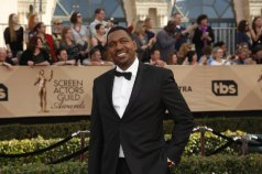 Mykelti Williamson walking the red carpet at the 23rd Annual SAG Awards